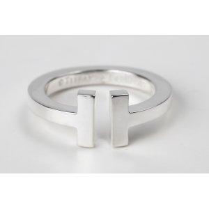 画像1: TIFFANY&Co[ティファニー] Tスクエアーリング 並行輸入品